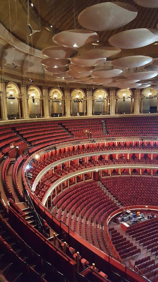 Königlicher Albert Hall nach innen lizenzfreies stockfoto