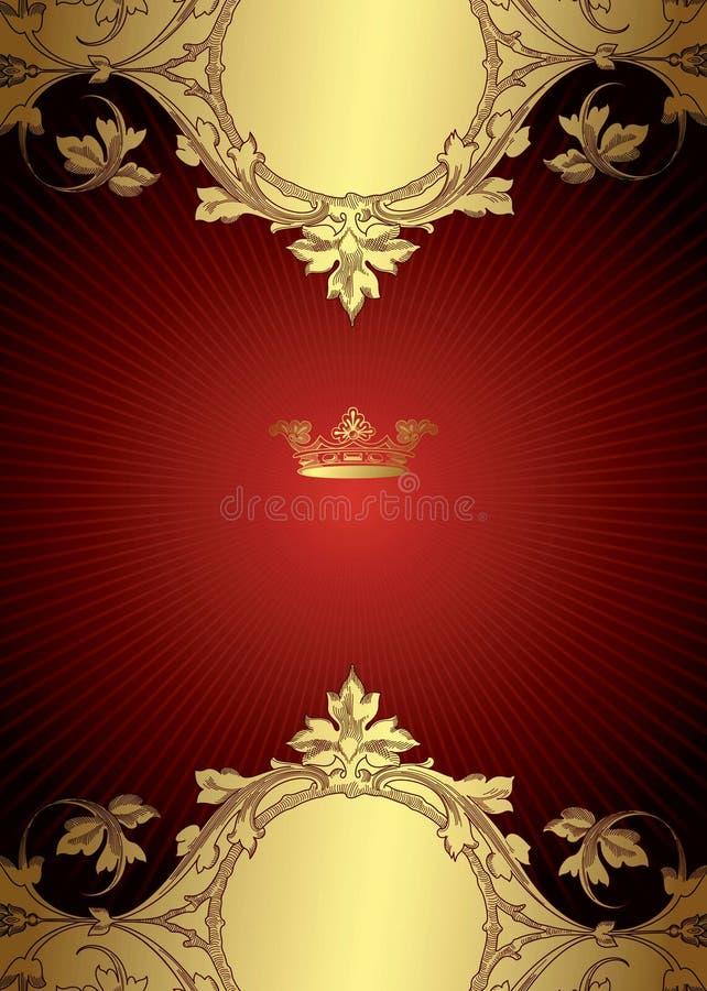 Königlicher Auslegung-Hintergrund vektor abbildung