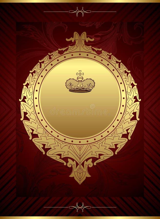 Königlicher Auslegung-Hintergrund stock abbildung