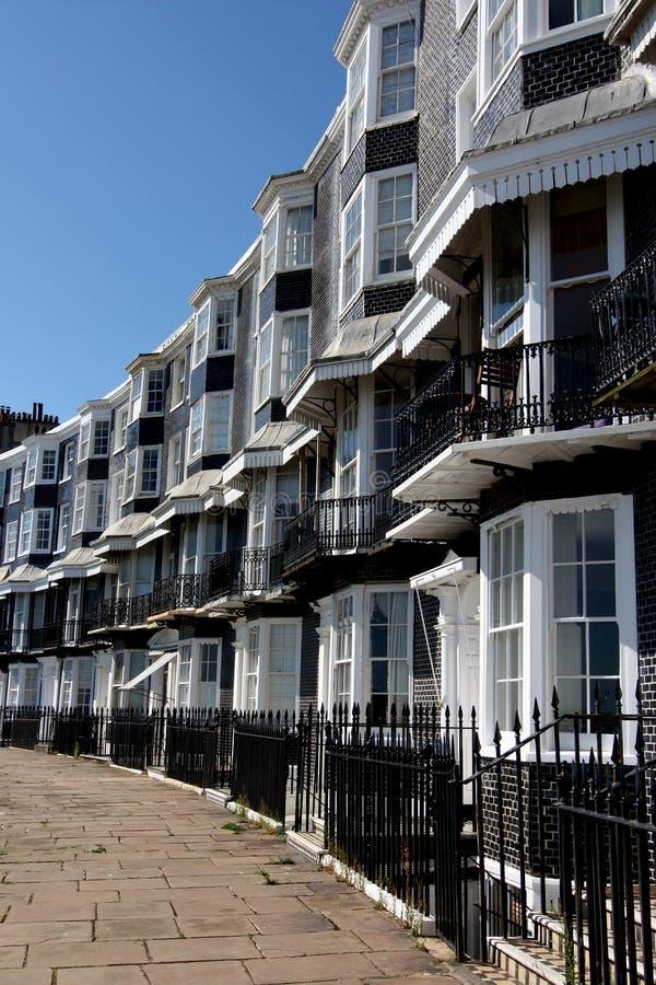Königlicher Crescent Brighton lizenzfreie stockfotografie