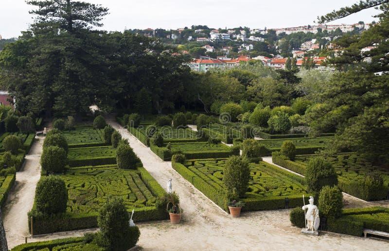 Königlicher Garten von Caxias stockbilder