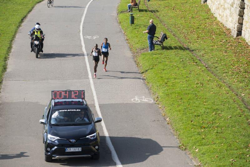 Königlicher Halbmarathon 2017 Cracovia lizenzfreies stockbild