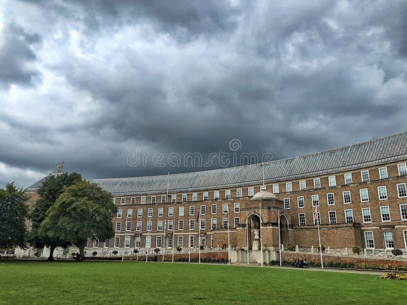 Königlicher Halbmond, Bristol stockbild