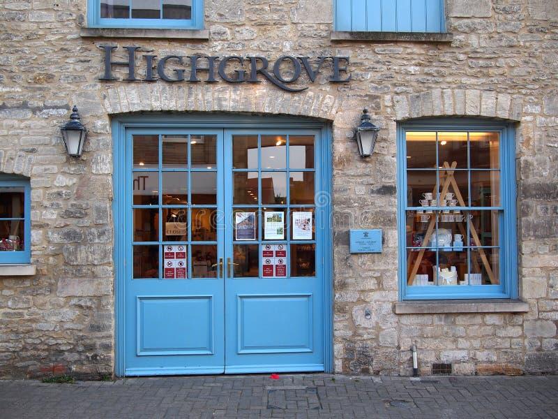 Königlicher Highgrove-Shop lizenzfreie stockfotografie