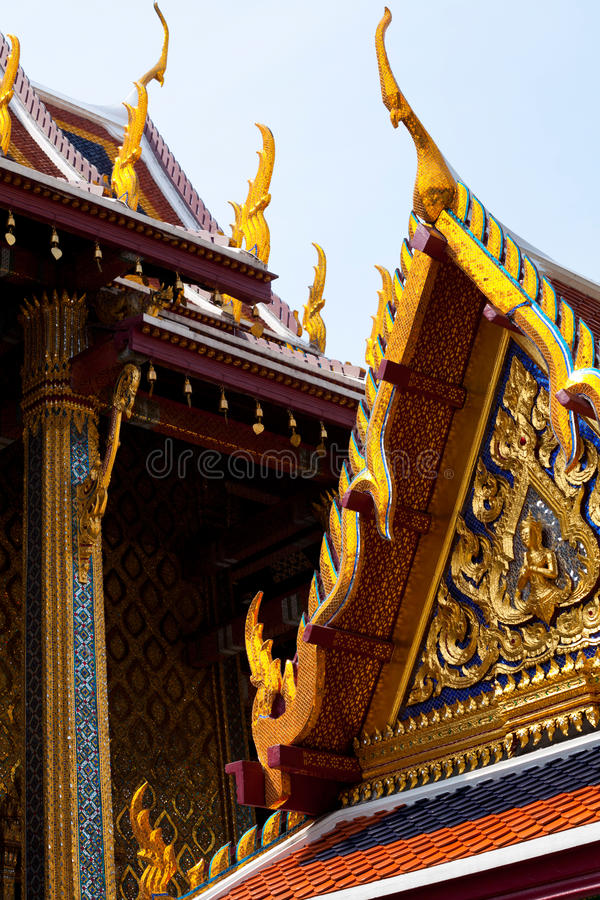 Königlicher Palast in Bangkok lizenzfreies stockfoto