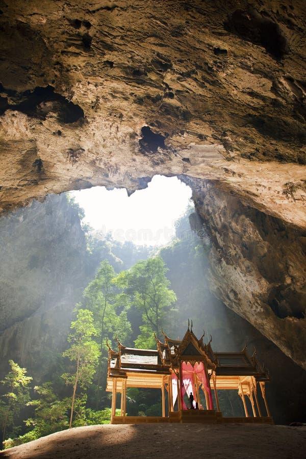 Königlicher Pavillion Phraya Nakhon in der Höhle, Thailand stockbilder