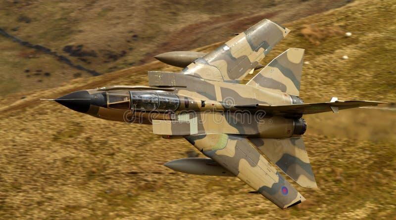 Königlicher saudischer Luftwaffen-Tornado stockfoto