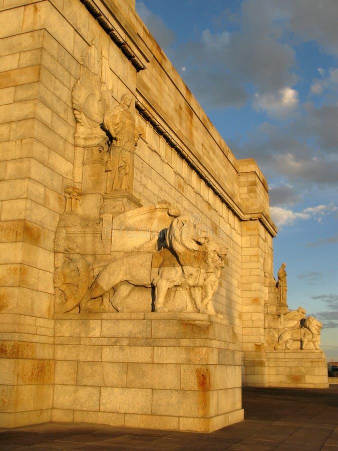 Königlicher Schrein, Melbourne, Australien lizenzfreies stockbild