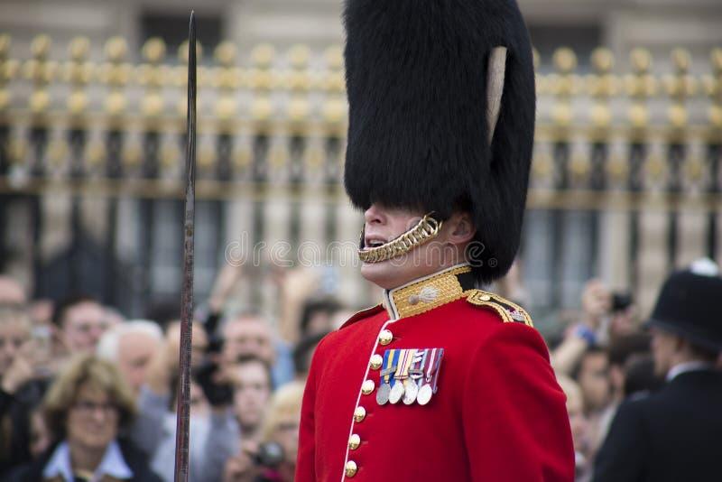 Königlicher Wachposten, London stockbilder