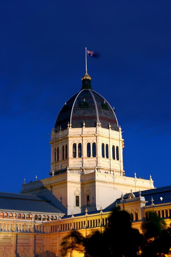 Königliches Ausstellung-Gebäude Melbourne stockfoto