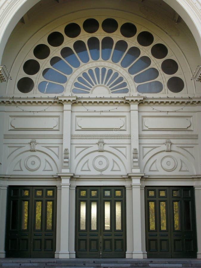 Königliches Ausstellung-Gebäude, Melbourne, Australien stockbild