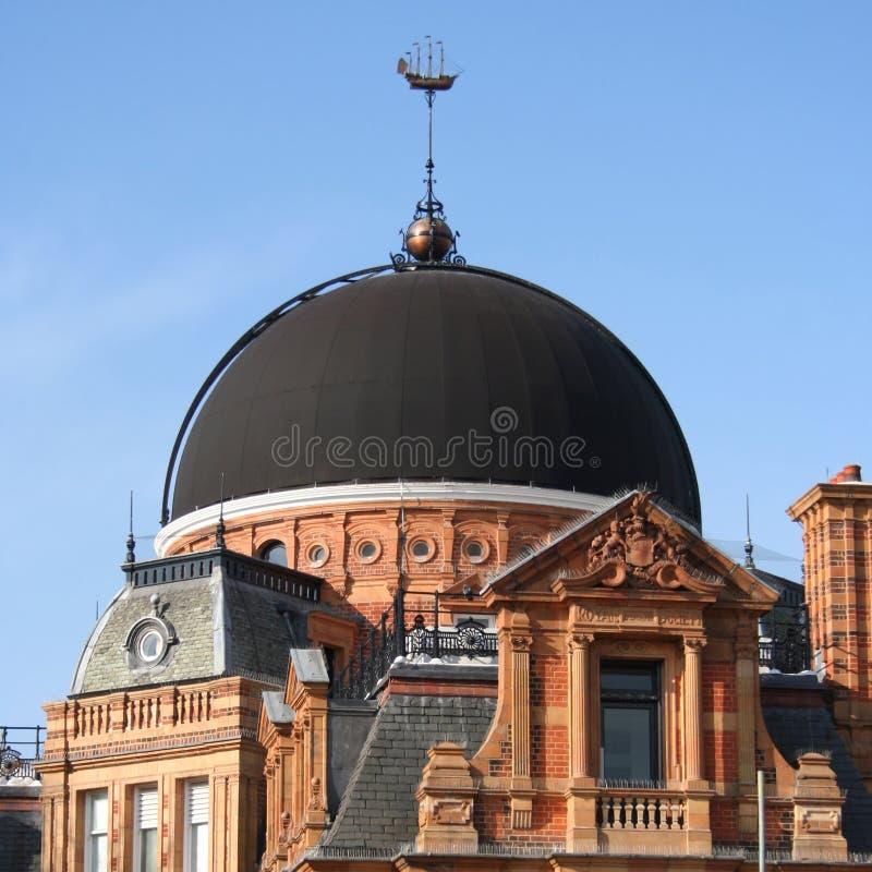Königliches Beobachtungsgremium, Greenwich lizenzfreie stockfotografie