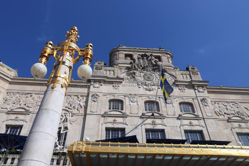 Königliches drastisches Theater Stockholms lizenzfreies stockbild