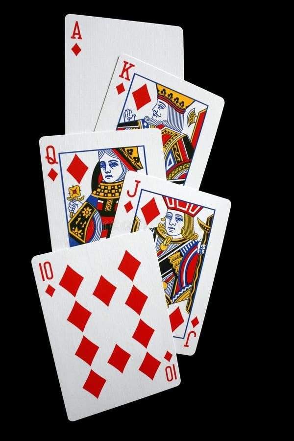 Königliches Erröten stockfoto