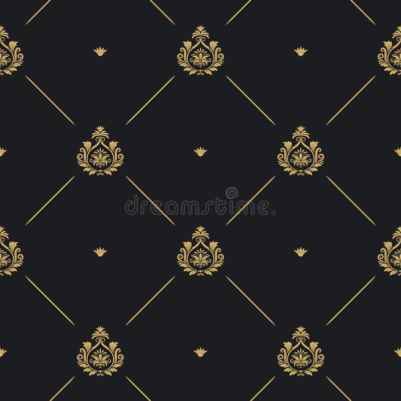 Königliches Hochzeitsmuster stock abbildung