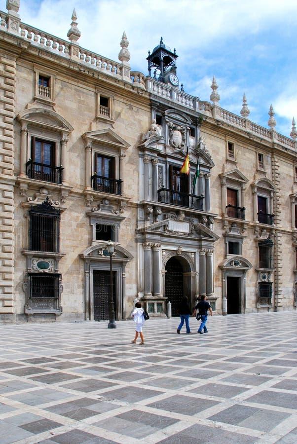 Königliches Kanzleigericht, Granada lizenzfreie stockfotografie