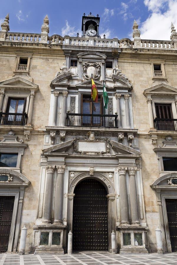 Königliches Kanzleigericht Granadas lizenzfreie stockfotografie