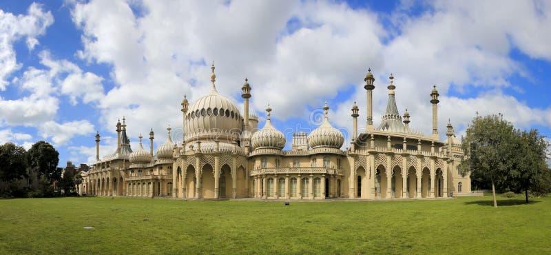 Königliches pavillion Panorama Brighton stockfotografie