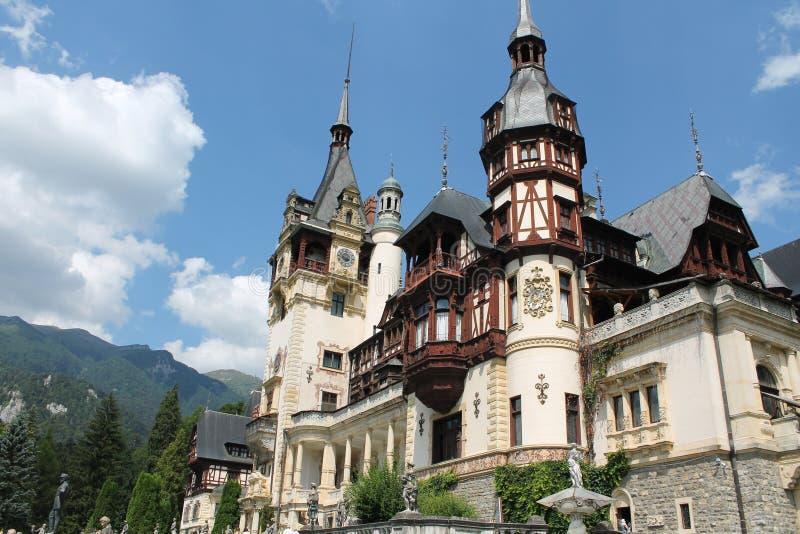 Königliches Peles-Schloss stockfotografie