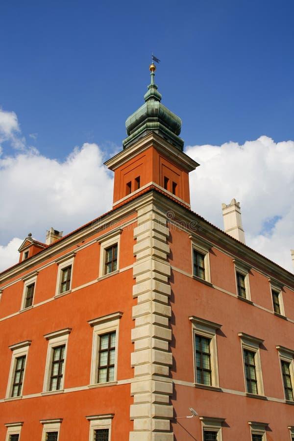 Königliches Schloss lizenzfreies stockbild