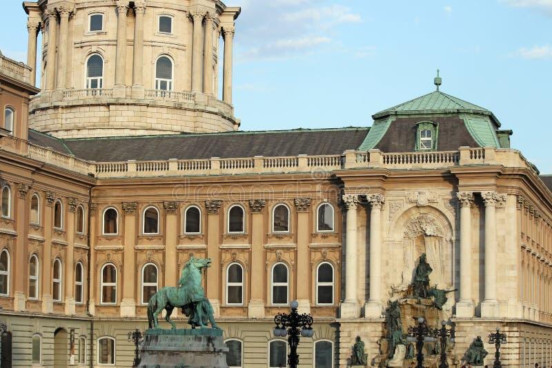 Königliches Schloss Buda stockfoto