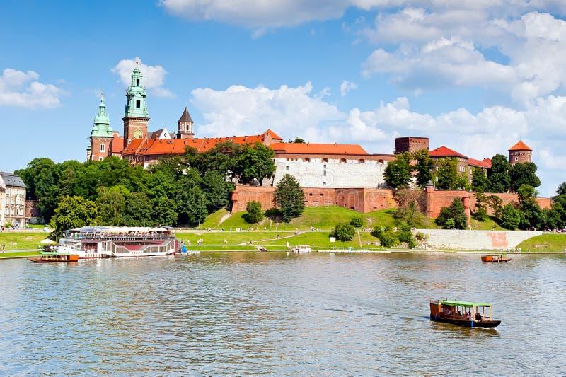 Königliches Schloss in Krakau - Wawel lizenzfreie stockfotografie