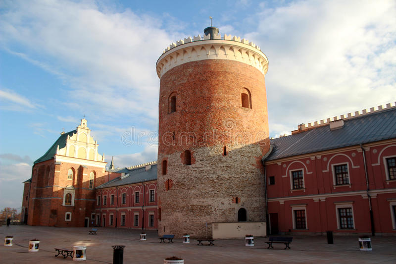 Königliches Schloss Lublins | Dreiheits-Kapelle lizenzfreies stockbild