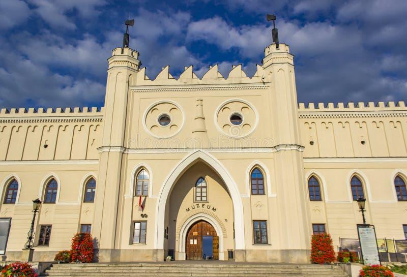 Königliches Schloss Lublins in Polen lizenzfreies stockfoto
