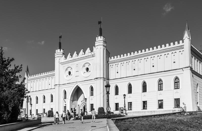 Königliches Schloss von Lublin, Polen lizenzfreie stockfotografie