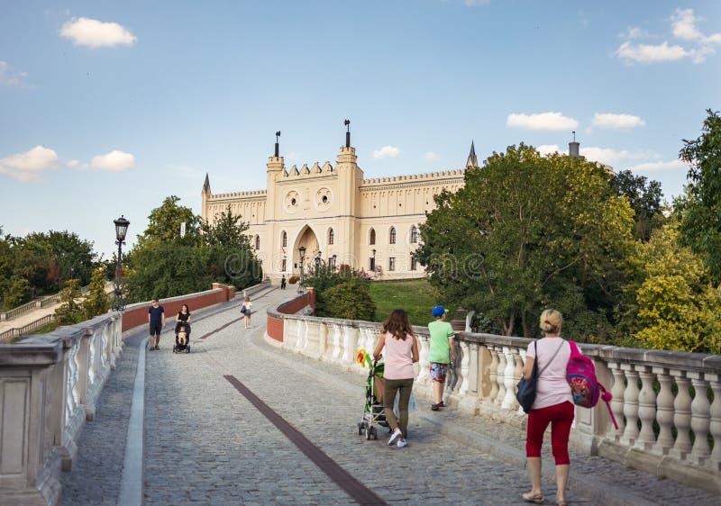 Königliches Schloss von Lublin, Polen stockfotos