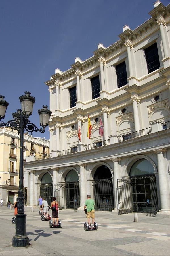 Königliches Theater, Madrid lizenzfreie stockbilder