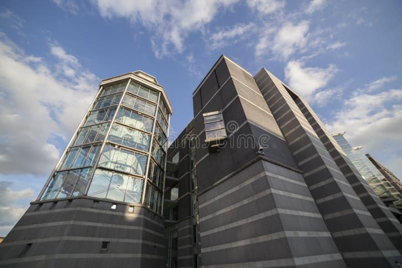 Königliches Waffenkammer-Museum in Leeds stockfotografie