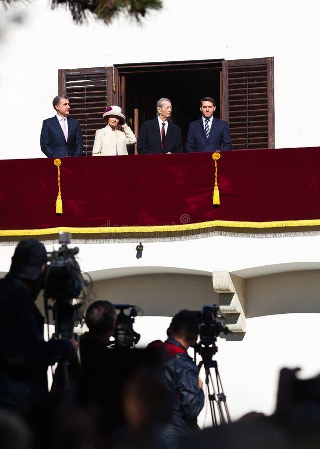 Königsfamilie von Rumänien lizenzfreie stockfotos