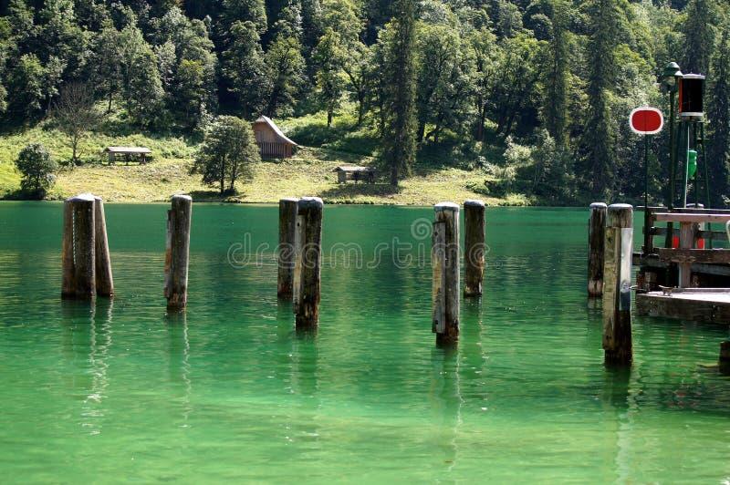 Königssee lake. stock image