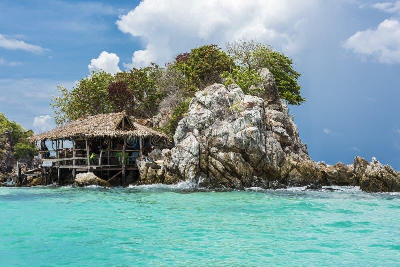 22 können 2016: die Insel auf Mayastrand, Phuket, Thailand, kann 22, 2016 stockfotografie