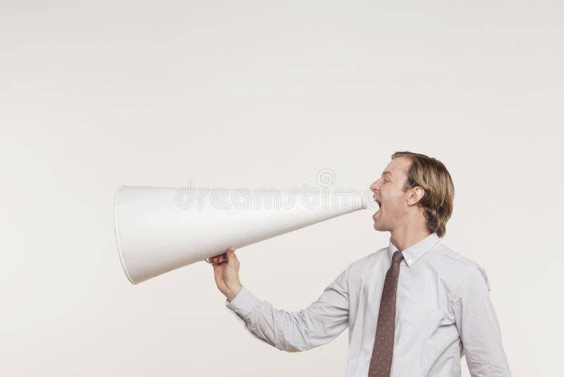 Können Sie mich jetzt hören? lizenzfreie stockfotos