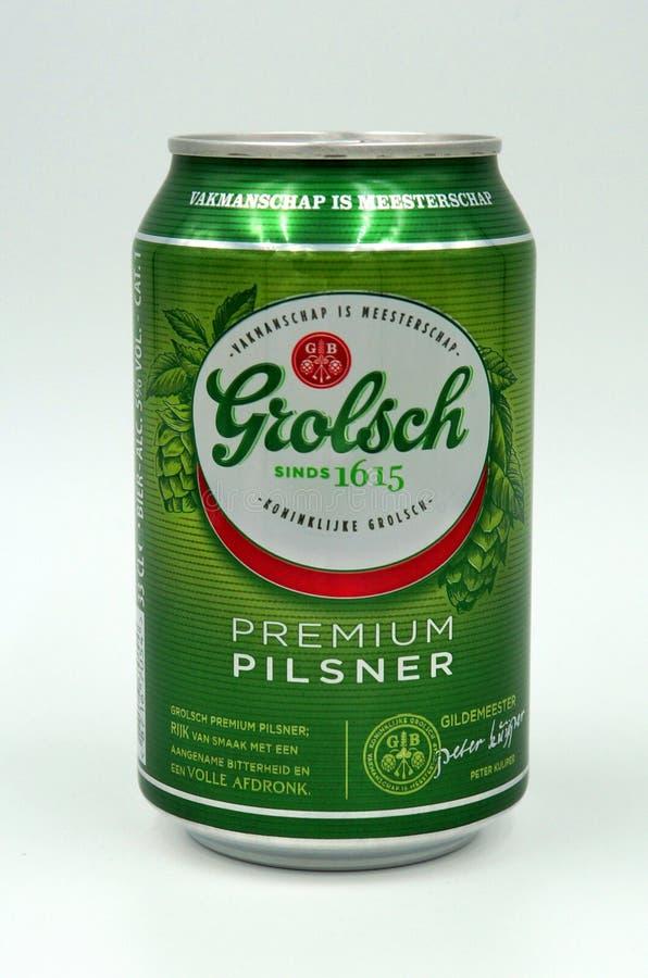 Können Sie von Grolsch-Bier lizenzfreie stockbilder