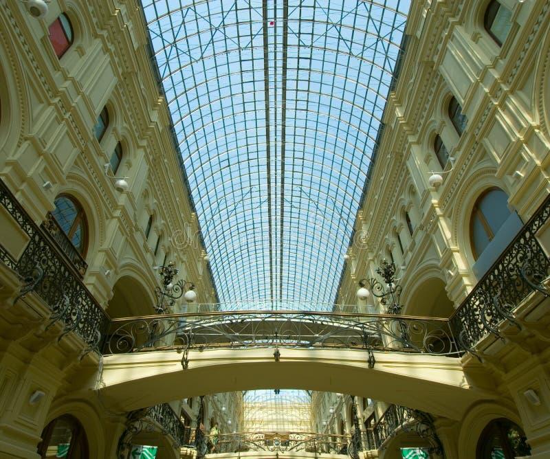 Köpcentrum royaltyfria foton