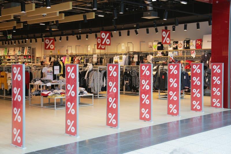 Köpcentrumliv 006 arkivfoto