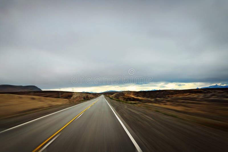 körning snabbt arkivfoto