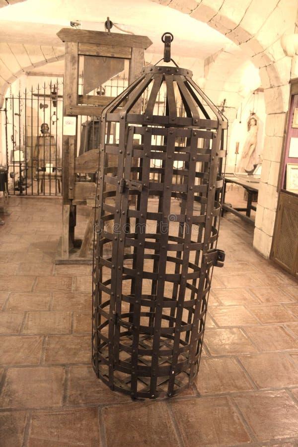 Körpergefängnis der Folterung lizenzfreies stockfoto
