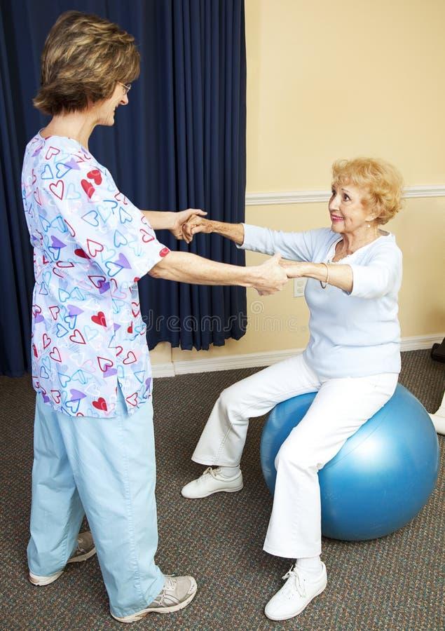 Körperliche Therapie-Training lizenzfreies stockfoto
