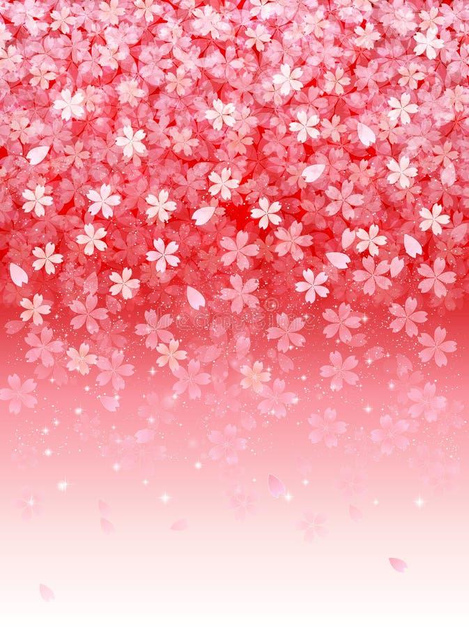 Download Körsbärsrött träd stock illustrationer. Illustration av blom - 37346874