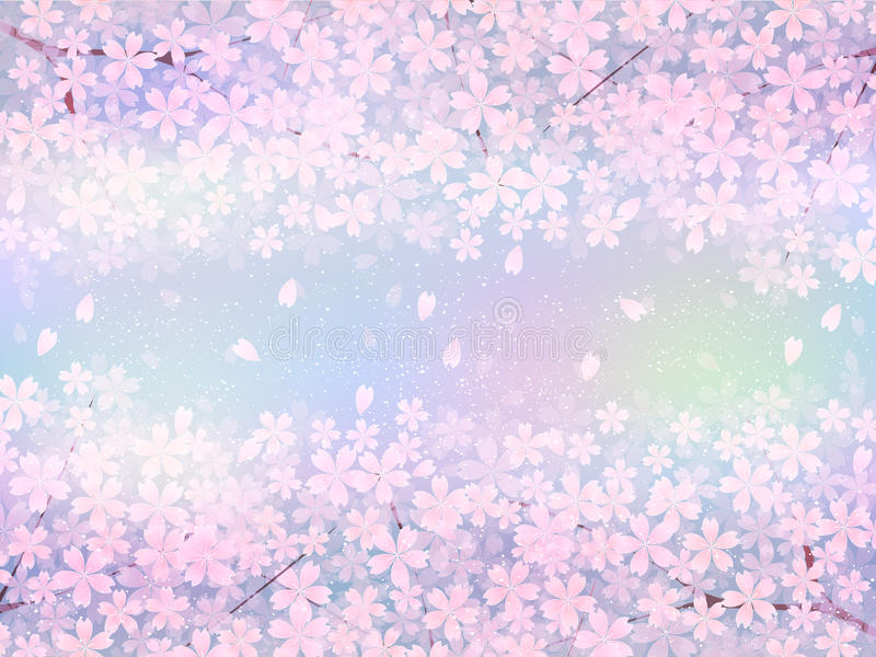 Download Körsbärsrött träd vektor illustrationer. Illustration av stjärna - 37347332