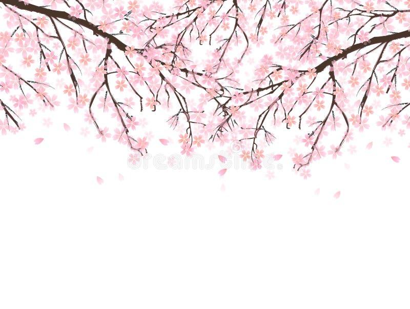 Download Körsbärsrött träd vektor illustrationer. Illustration av lampa - 37348233