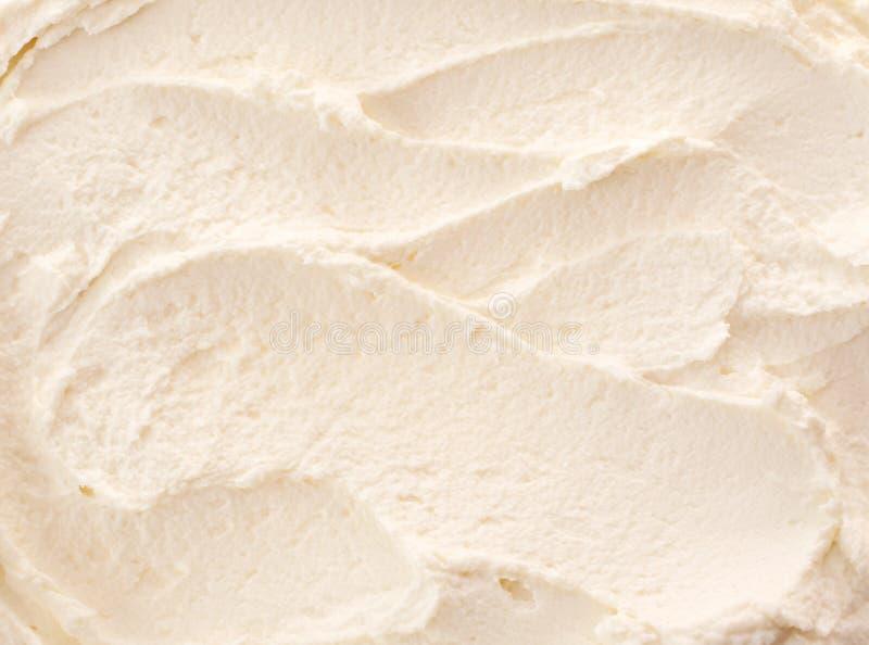 Köstliche Auffrischungszitrone oder Vanilleeis lizenzfreie stockbilder
