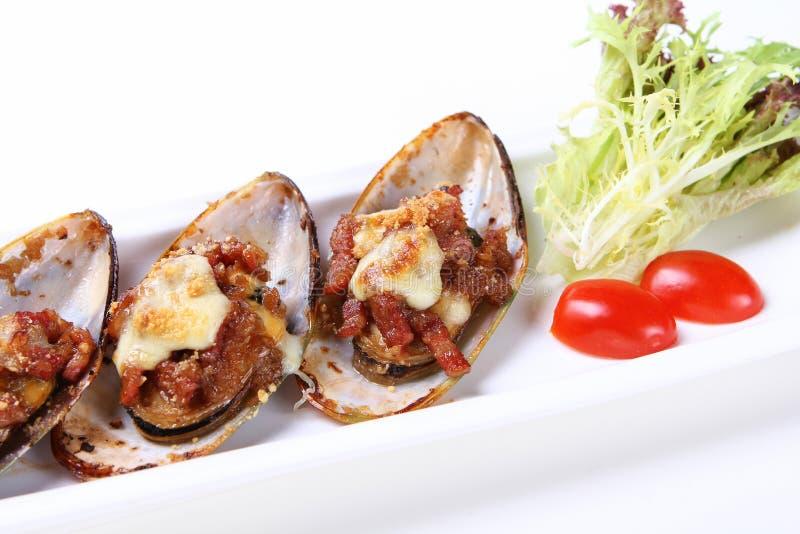 Köstliche Austern lizenzfreie stockfotos