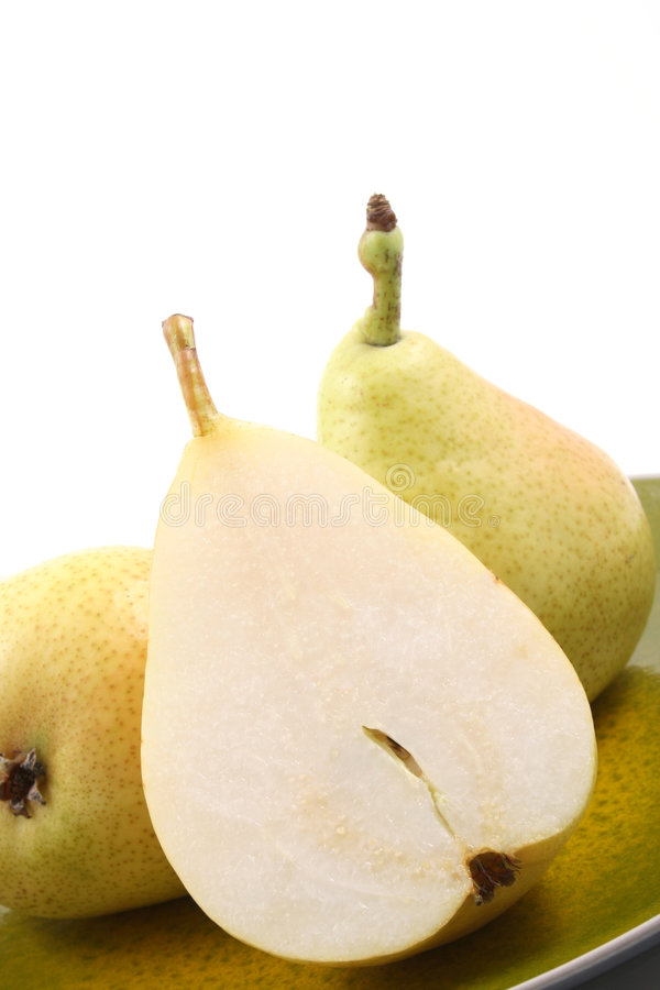 Köstliche Birnen lizenzfreie stockfotos