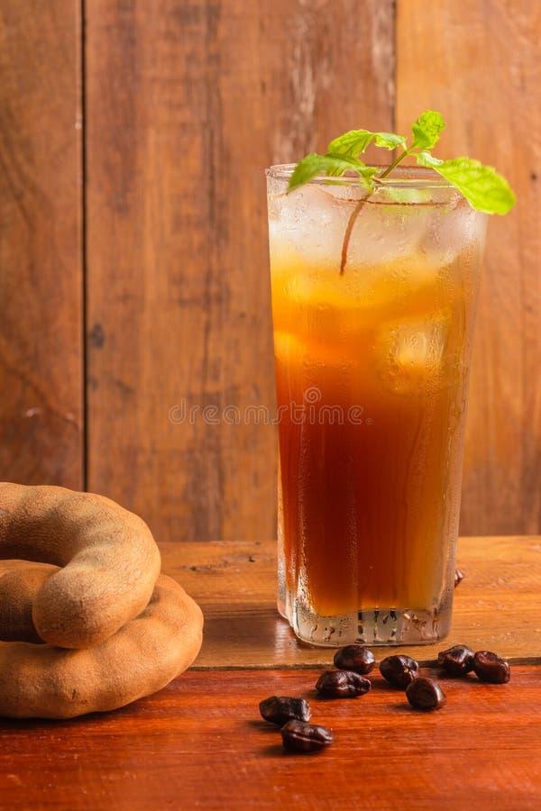 Köstliche süße Getränktamarinde lizenzfreies stockfoto