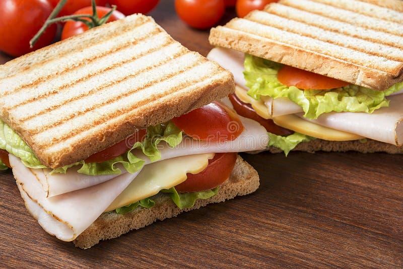 Köstliche Sandwiche stockfotos